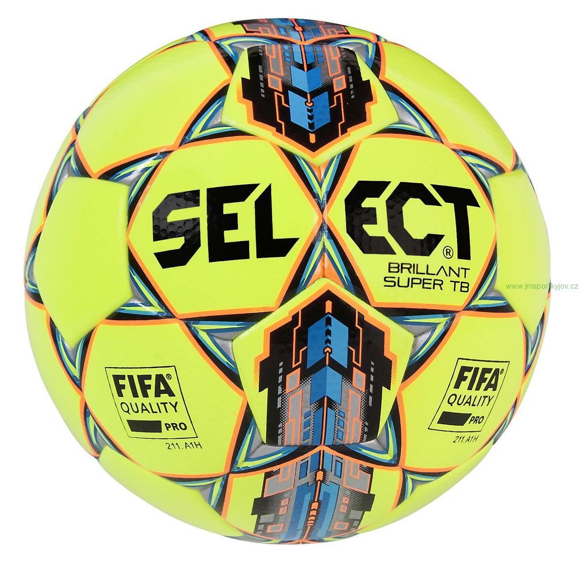 Fotbalový míč Select FB Brillant Super TB (Ž) 766b869c02